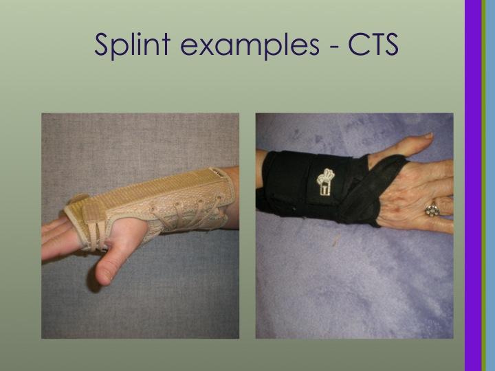 CTS Wrist Splints