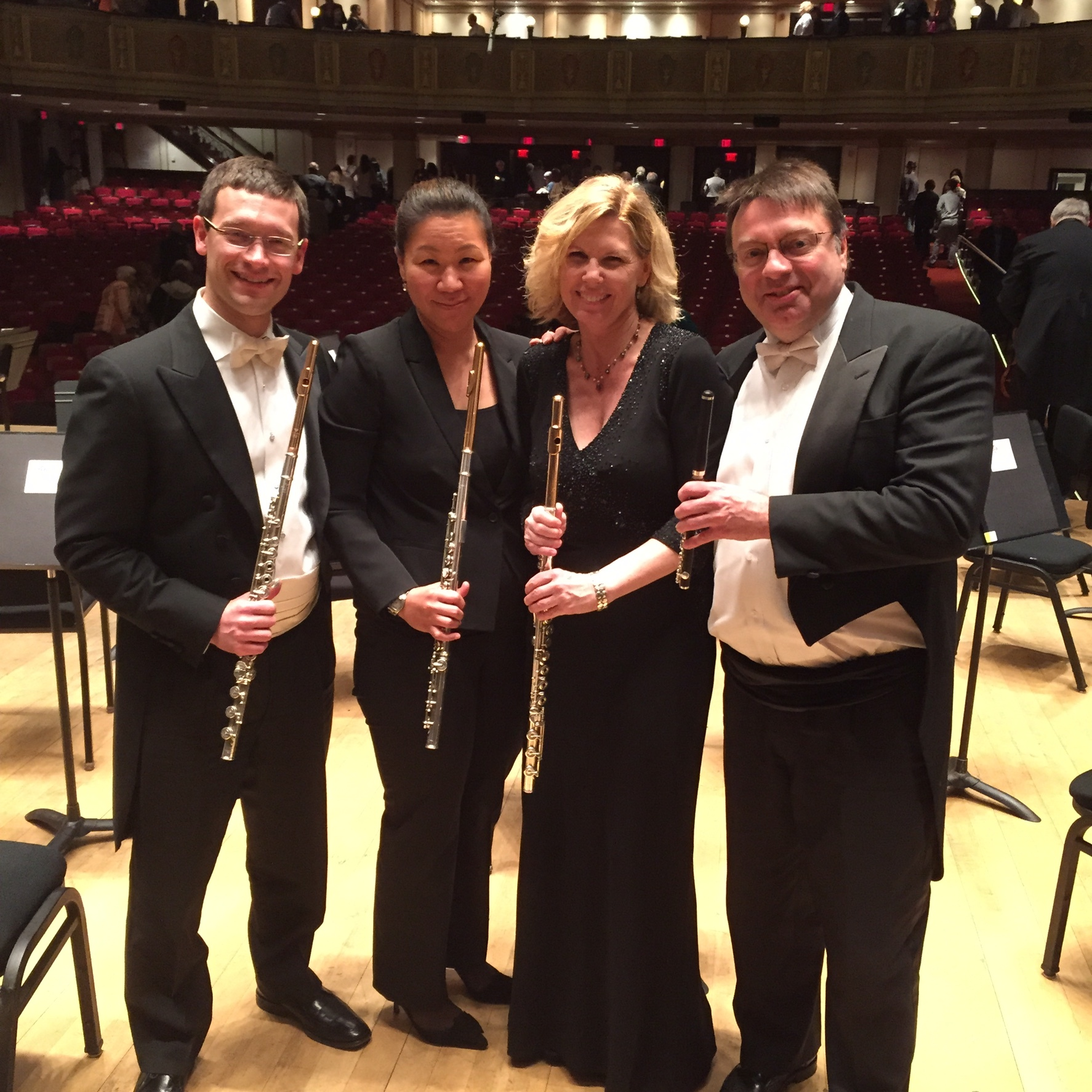 DSO Flute Section July 2015